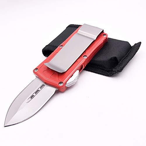 IVTT Exocet red Double Action Knife