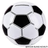 "SET of 6 Inflatable Soccer Balls (16"") / Party / Decor / Pool / Birthday / Favor"