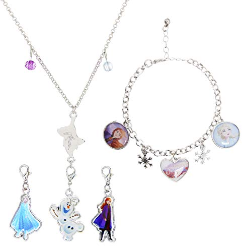 Disney Frozen 2 Toys Jewellery For Girls, Princess Elsa Dress Accessories,...