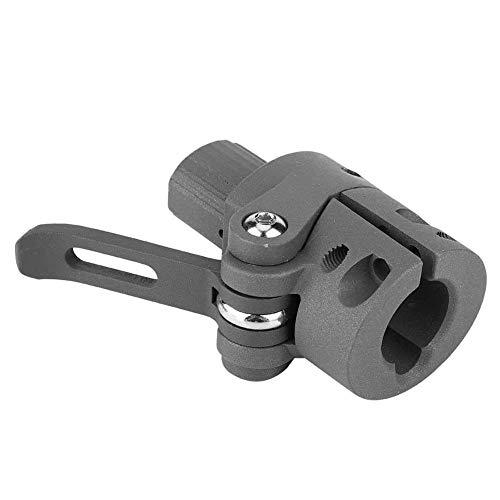 Scooter plegable poste base para xiaomi m365/pro llave plegable mango adaptador piezas de repuesto negro para Christams regalo