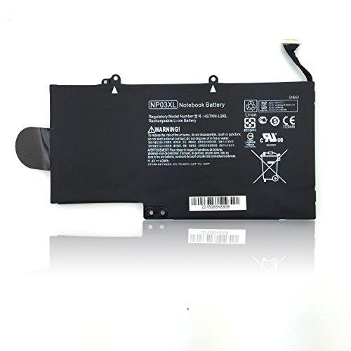 NP03XL Laptop Battery for HP Pavilion X360 13-A010DX 13-A012DX 13-A013CL 13-A110DX HP Envy X360 15-U010DX 15-U011DX 15-U110DX 15-U111DX 760944-421-18 HSTNN-LB6L TPN-Q146