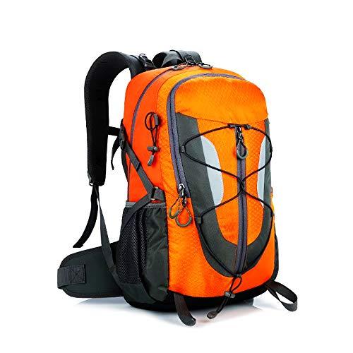 XIAO HUI Mochila de montañismo al aire libre, 35 l, mochila impermeable para viajes...