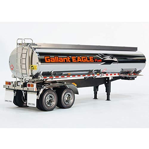Tamiya 56333 - Kit de remolque cisterna de combustible para camión de radio control Tamiya - escala 1/14