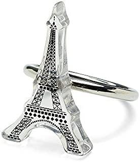 Best eiffel tower napkin rings Reviews