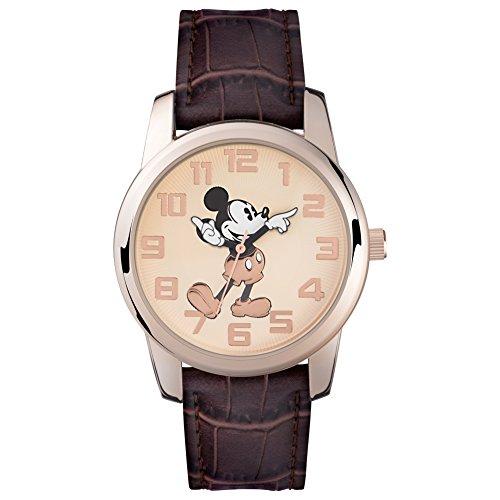 Mickey Mouse Orologio Analogico Quarzo Unisex con Cinturino in plastica MK1459