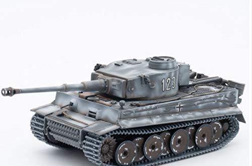 Segunda Guerra Mundial Tigre Alemán I Producción Temprana 503 batallón Campo de batalla soviético 1943 1/72 TANQUE DE MODELO ACABADO