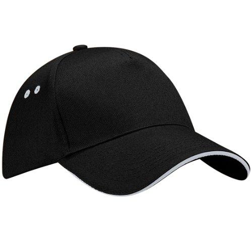 Beechfield B015 Ultimate Cap / Schirmmütze, 5Panels, Unisex, für Erwachsene, B15C, Mehrfarbig, B15C onesize