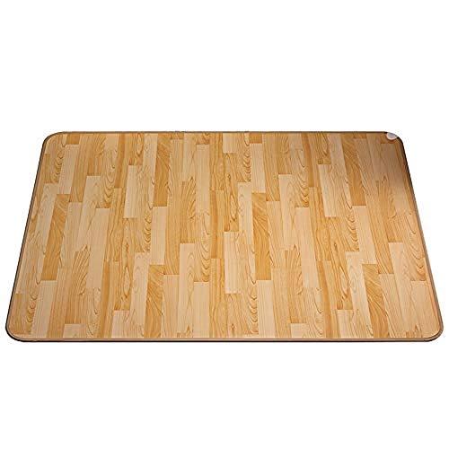 Beheizbare Fußmatte mit Infrarot,energiesparend,Heizteppich stufenlos regulierbar, Infrarot Bodenmatte,Heizmatte pflegeleicht und rutschfest