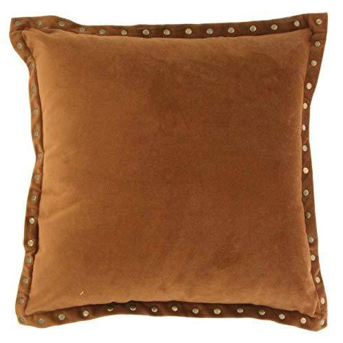 Chehoma - Cojín (45 x 45 cm), color marrón