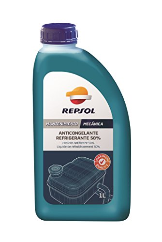 Repsol RP700W34 Anticongelante Refrigerante 50%, 1 L
