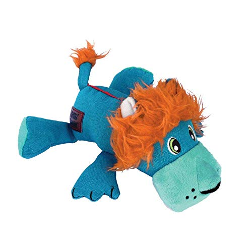 KONG Cozie Ultra Lucky Lion For Medium Sized Dogs With KONG Ultra-Tex Fabric Construction