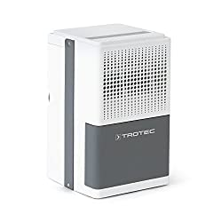 TROTEC comfort dehumidifier TTK 25 E (max.10 L / day), suitable for rooms up to 37 m³ / 15 m²
