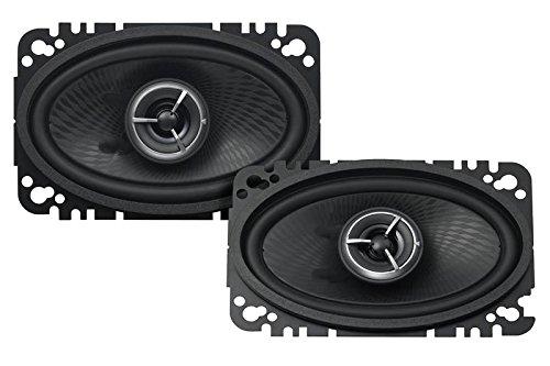 Kenwood KFC-X463C Excelon 4x6 2-Way Speaker System - Pair (Black)