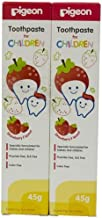 Pigeon Strawberry Toothpaste (45g, Pack of 2)