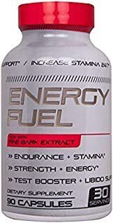 Energy Fuel N.1 Most Effective Performance Booster Enhancing Energy Stamina Size Physical Performance Energy Size Pine Bark Extract 90 Capsule Count