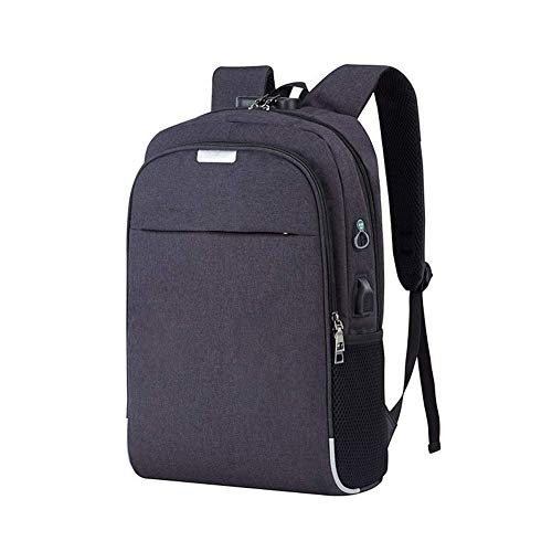 DVUSGD TT Laptop Computer Backpack,Anti-Theft Outdoor Travel Casual Daypack With Usb