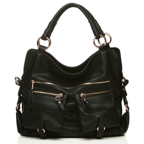 Hot Sale Urban Expressions Afternoon Handbag (Black)