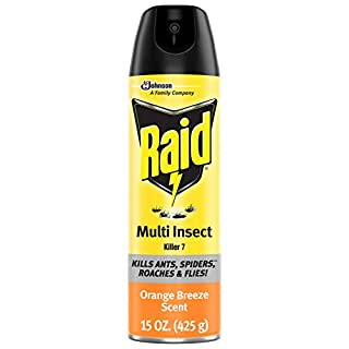 Raid Multi Insect Killer, Kills Ants, Spiders, Roaches and Flies, For Indoor and Outdoor use, Orange Breeze, 15 Oz (B07N9K8CMD) | Amazon price tracker / tracking, Amazon price history charts, Amazon price watches, Amazon price drop alerts