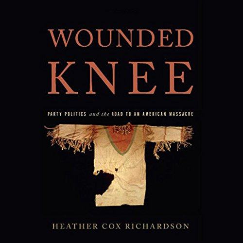 Wounded Knee audiobook cover art