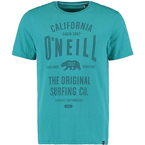 O'Neill Lm Muir Camiseta, Hombre, Verde (Green / Blue), L