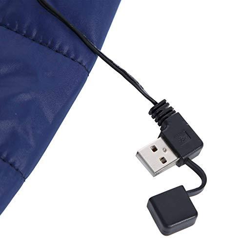 Emoshayoga Abrigo Calefactor Chaquetas térmicas eléctricas de Ahorro de energía para Adultos para anticongelante para la Salud y brindar más Comodidad(XXL, Pisa Leaning Tower Type)