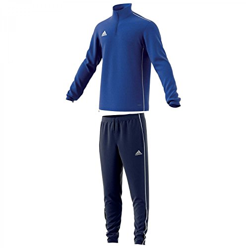 adidas Herren Trainingsanzug Core 18 Bold Blue/White XL