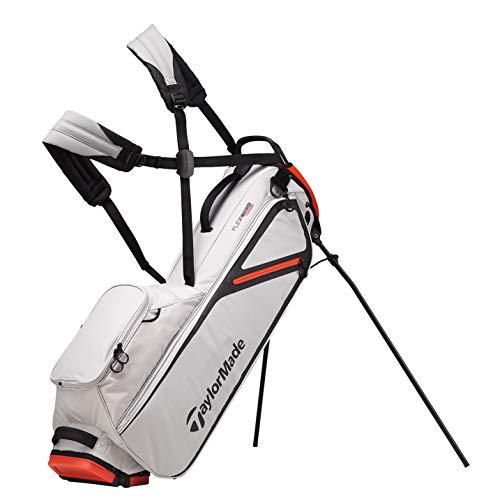 TaylorMade Flextech Lite, Borsa con Supporto, per Golf Uomo, Silver, Taglia Unica