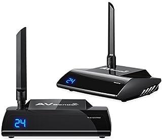 Hyperia PAT-580 5.8GHz HDMI TV Wireless Audio Video Transmitter and Receiver, IR Remote Control 300M(985ft) AV Sender