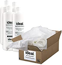 ideal. Shredder Office Supply Kit for The 4002 SC - Includes 80 Bags and 4 Pints of Oil