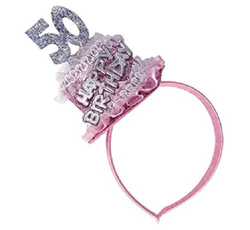 Cerchietto con Torta 50° Compleanno - Accessori Festa 50 Anni