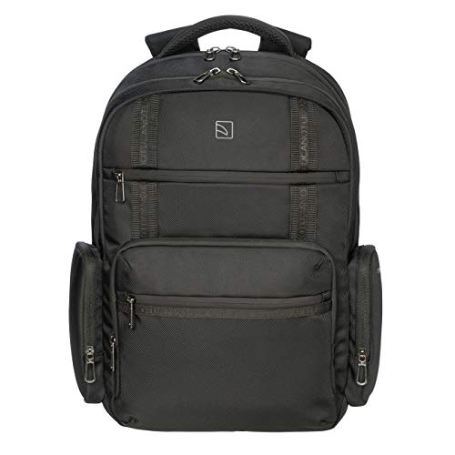 Tucano - Sole Gravity backpack compatible with MacBook Pro 16 inch and 17 inch laptop, anti-gravity system, reduces the feeling of weight