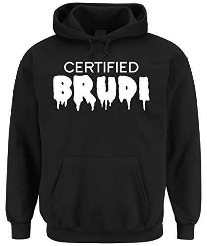 Certified Brudi Hooded-Sweater Black-L