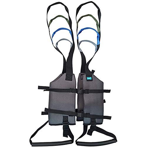 ZHYJJ Patientenliftschlingen Toilettenschlingenheber Antrieb Stehhilfen Beintrainer Übung Oberschenkel Hüfte Taille Lendenwirbelstütze