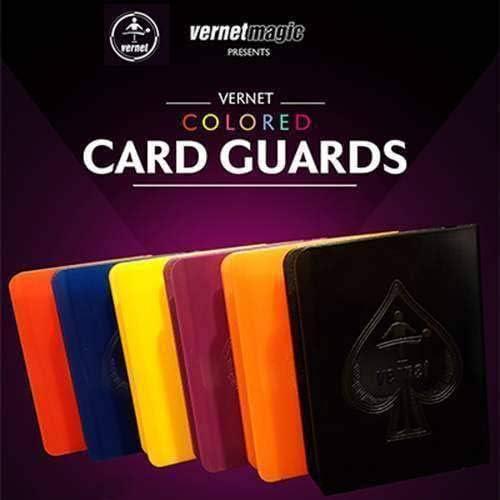 SOLOMAGIA Vernet Card Guard Set (6 Farbes) by Vernet - Card Clip - Zubeh - Zaubertricks und Props