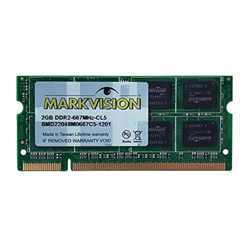Memória Ram Markvision 2gb Ddr2 667mhz Notebok