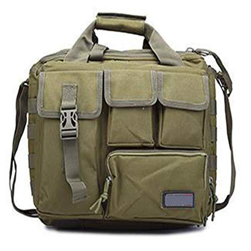Tan 15 '' Molle Military Laptop Tasche Taktische Computer Rucksack Messenger Fanny Gürtel Umhängetaschen Camping Outdoor Sports Pack