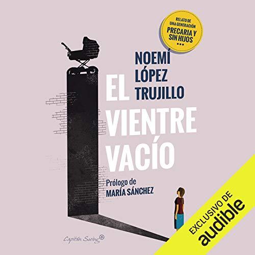 Diseño de la portada del título El Vientre Vacio (Narración en Castellano)
