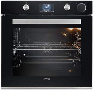 Svan Horno SVH850VAP coción a Vapor Negro/INOX con Pantalla Digital