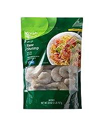 Fresh Brand – Raw Large Easy Peel Tail On Shrimp Value Pack, 2 lb (Frozen)