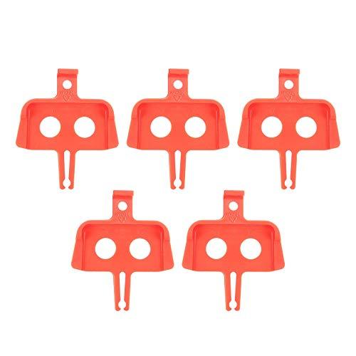 SunniMix 5X Pastillas de Freno de Disco hidráulico, protección de Frenos de Bicicleta, Frenos de Disco de Bicicleta de montaña Espaciador de Piezas, Protector - Estilo B