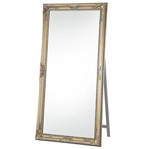ぼん家具 姿見 大型 全身鏡 高さ180 幅90cm 飛散防止 スタンドミラー シャンパンゴールド