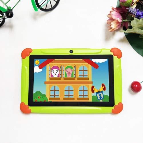 Kids Tablet Android 8.1, Pantalla de 7 Pulgadas, Tablet PC con Quad Core, 2 GB RAM 32 GB ROM, Tableta 1280 * 800 HD con Funda de Silicona, cámara Dual, Bluetooth, Wi-Fi y GPS
