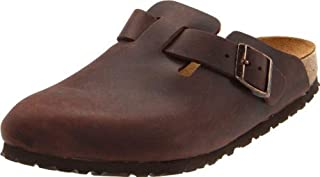 Boston Leather Clog - Women's Habana Oiled Leather, 36.0