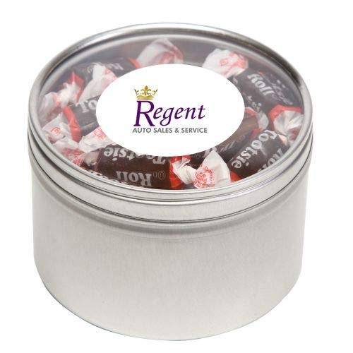 Buy Discount Tootsie Roll Candy in Lg Round Window Tin