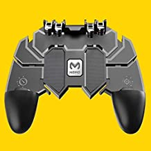 PUBG 3 in 1mobile trigger control mobile game controller controller fire button L1R1 for Android and iOS Black