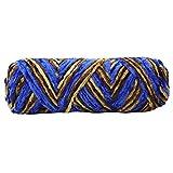 Chenilla Invierno Crochet Bufanda Línea Suave Gancho Línea