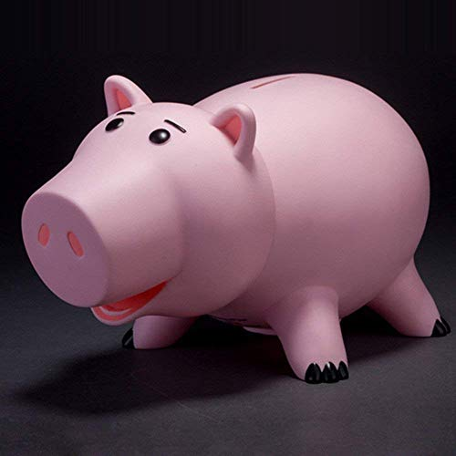 可愛い 豚 貯金箱 子供 おもちゃ トイストーリー ハム豚(ピンク)