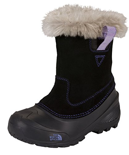 The North Face Shellista Pull-On II Girls Boots - 7.0/Demitasse Brown-Luminous Pink