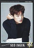 ソ・イングク 写真付 A4 ポスター 10枚 Ver.2 ※韓国店より発送の為、お届け2~4週間後