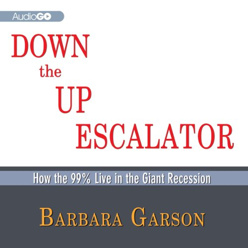 Down the Up Escalator audiobook cover art